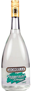 Gionelli Schnapps Peppermint 1.00l - Case of 12